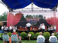 The National Capital Band of the Salvation Army on the Main Stage
