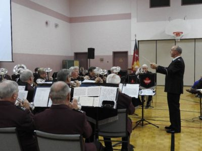 Heritage Brass (Bandmaster Bob Gray) at Calvary Baptist Church, Oshawa, October 2016.