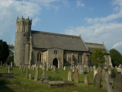 The church of St Edmund in Acle, Norfolk, England