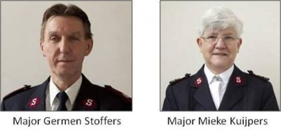 Major Germen Stoffers and Major Mieke Kuijpers