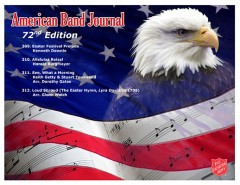 American Band Journal 72 - arrangements by Downie, Burgmayer, Gates and Welch
