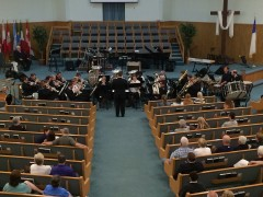 Arkansas-Oklahoma Divisional Band (Bandmaster Andrew Barrington) at Twin Lakes Baptist Church