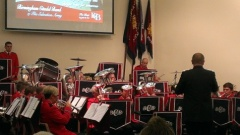 Birmingham Citadel Band at Luton Corps