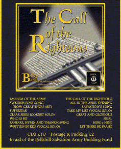Cover of the CD The Call of the Righteous - Bellshill Band, Bandmaster Ian Dickie
