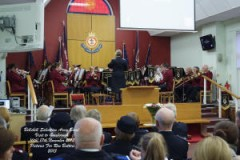 Bellshill Band (Bandmaster Yvonne Ferguson) on stage at Guisborough