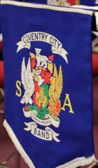Coventry City Band banner