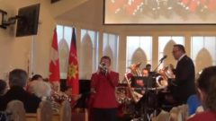 "Marcus Venables plays his own composition ""Beyond All Measure"" with the Canadian Staff Band"