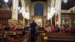 Enfield Citadel Band at Holy Trinity Church, Long Melford, September 2016