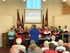 Shepway Community Choir at Hythe Salvation Army, July 2017
