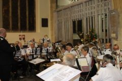 South and Mid Wales Fellowship Band (B/M Adrian Browning), St. Mary's Church, Tenby, 22 October 2016