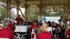 Melbourne Staff Band, New Farm Park Band Rotunda, Brisbane, October 2018