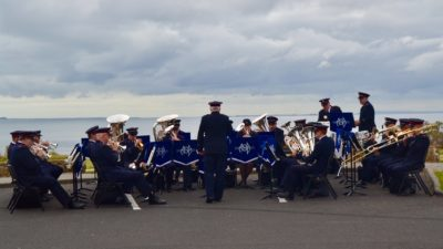 Melbourne Staff Band (Bandmaster Ken Waterworth) at Torquay, November 2018