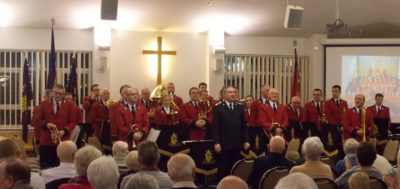 Norwich Citadel Band (Bandmaster Richard Woodrow) at Leicester South, October 2016