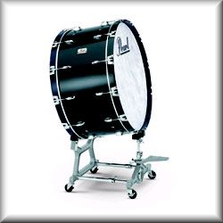 Pearl Concert Series Bass Drum and Stand