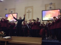 Regent Hall Band at Rushden November 2014