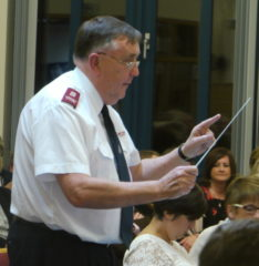 "Ian Wileman conducts ""Daniel"" (Barrie Gott)."