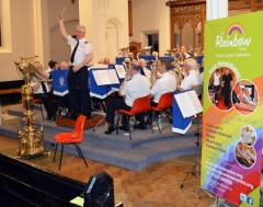 Solent Fellowship Band at Fareham, Benefit Concert for the Rainbow Centre