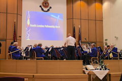 South London Fellowship Band at Blackpool Citadel, September 2018