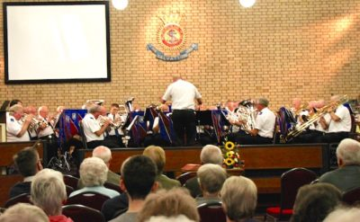 South London Fellowship Band, concert in Carlisle, September 2018