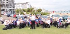 South London Fellowship Band, Outdoor Concert, Eastbourne Seafront, July 2017