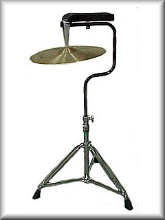 Suspended Cymbal on Stand