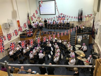 Last Night of the Proms Concert, Worthing Citadel, September 2018
